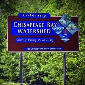 Chesapeake watershed sign