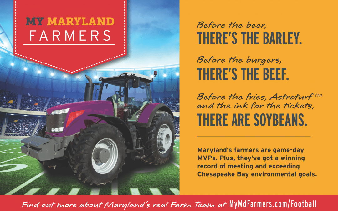 My Maryland Farmers Supports the Baltimore Ravens