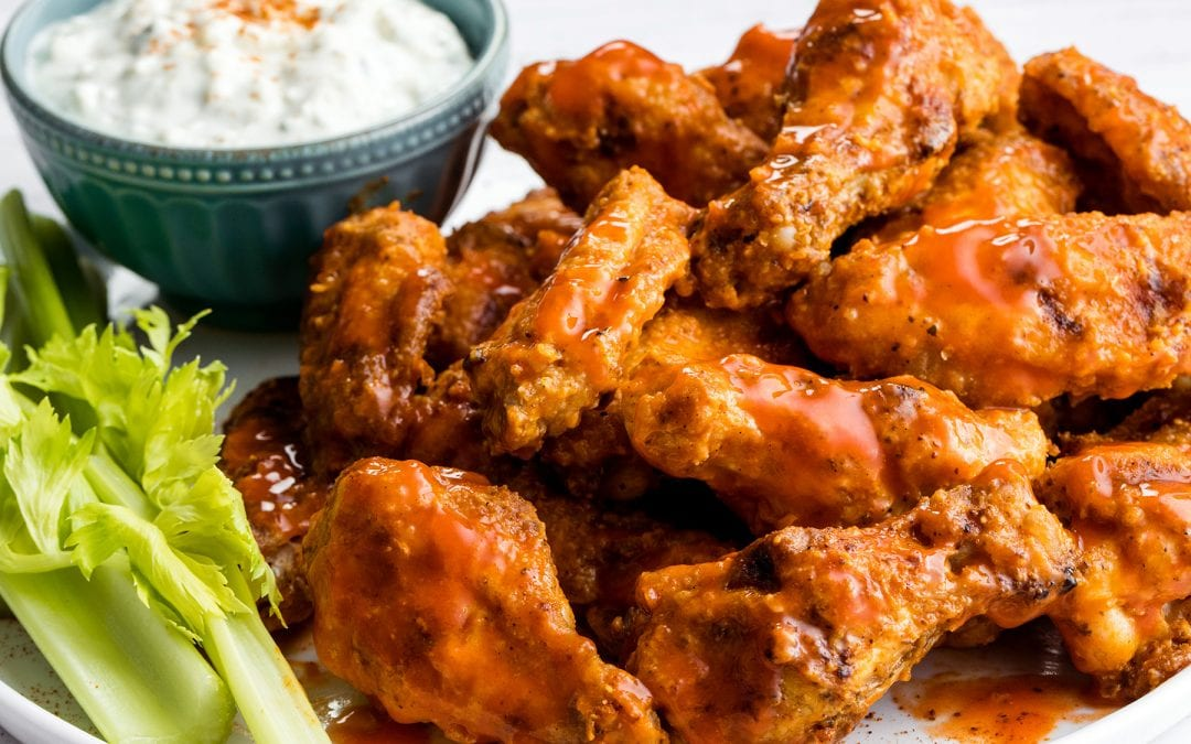 Chicken Wings: A Super Bowl Tradition